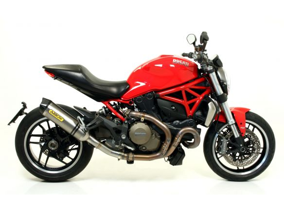 TERMINALE RACE TECH ARROW ALLUMINIO DARK DUCATI MONSTER 1200 2014-2015