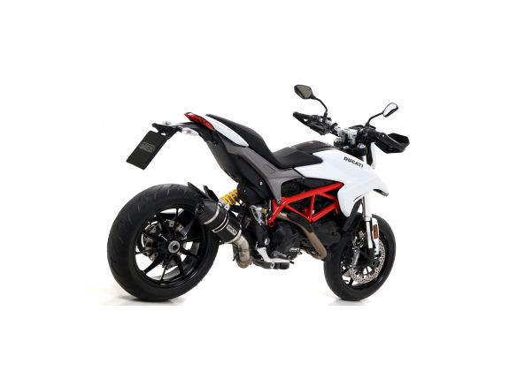 TERMINALE RACE TECH ARROW ALLUMINIO DARK DUCATI HYPERSTRADA 2016-2018
