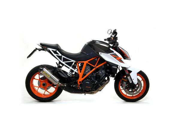 SILENCER RACE TECH ARROW ALUMINUM DARK KTM 1290 SUPERDUKE 2017-2018