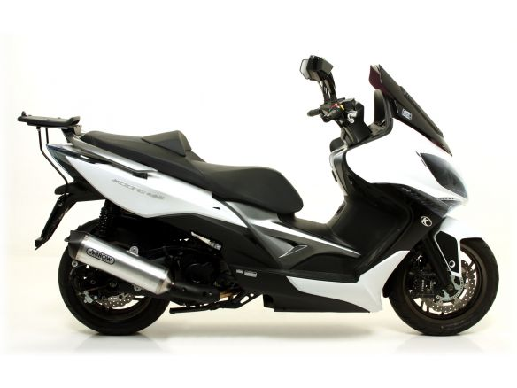 TERMINALE RACE TECH ARROW ALLUMINIO DARK KYMCO XCITING 400I 2012-2016