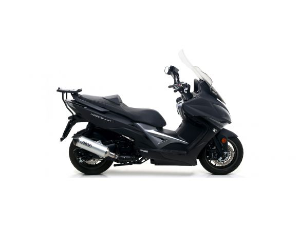 TERMINALE RACE TECH ARROW ALLUMINIO DARK KYMCO XCITING 400I 2017-2018
