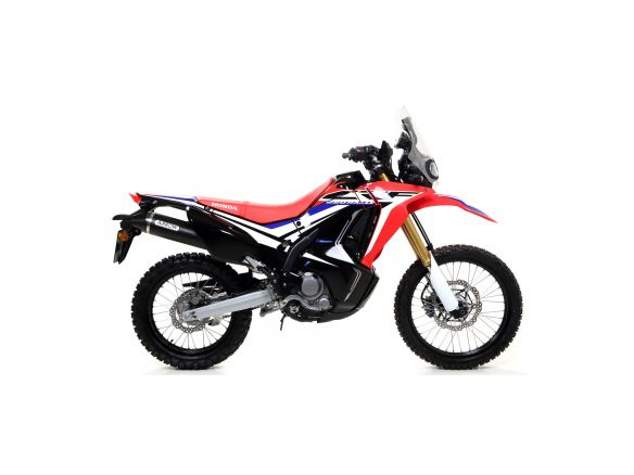 TERMINALE THUNDER ARROW ALLUMINIO DARK INOX HONDA CRF 250 RALLY 2017-2018