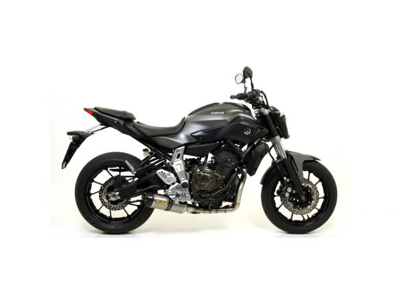 TERMINALE THUNDER ARROW ALLUMINIO DARK INOX YAMAHA MT-07 2014-2018