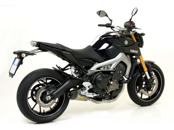 TERMINALE THUNDER ARROW ALLUMINIO DARK INOX YAMAHA MT-09 2013-2019