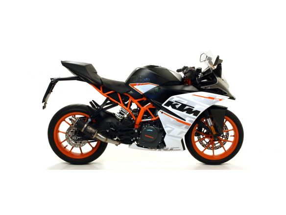 TERMINALE THUNDER ARROW ALLUMINIO DARK INOX KTM RC 125 2017-2018