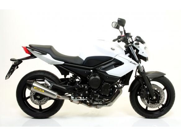 TERMINALE THUNDER ARROW ALLUMINIO WHITE INOX YAMAHA XJ6 / DIVERSION 2009-2015