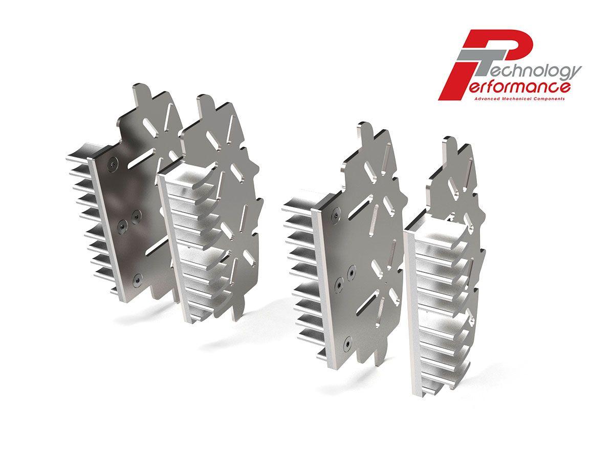BREMBO CALIPER XA7G2A0 BRAKE PLATE RADIATOR PERFORMANCE TECHNOLOGY
