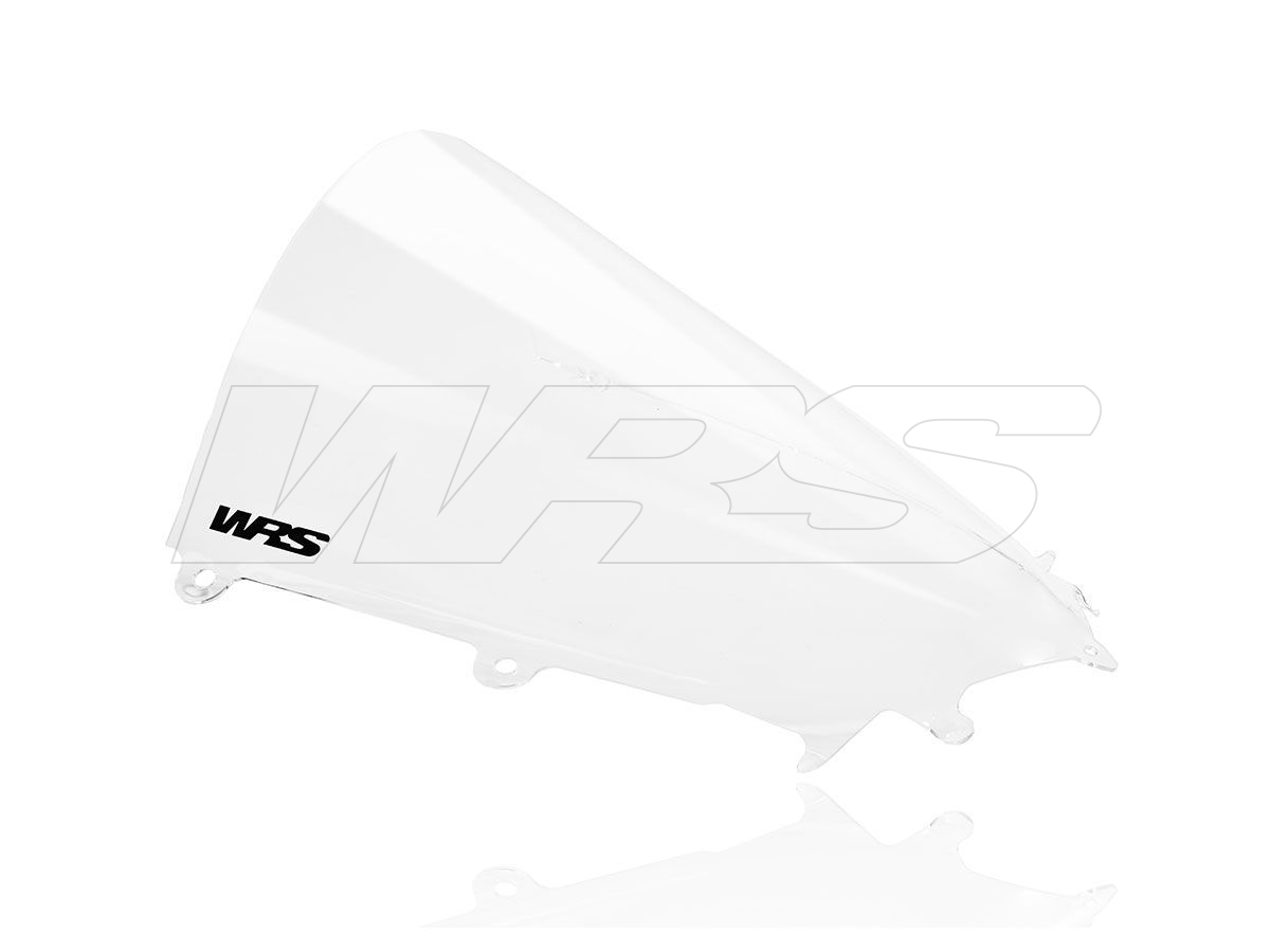 PAREBRISE RACE HAUT WRS TRANSPARENT +50MM YAMAHA R6 2017-2020