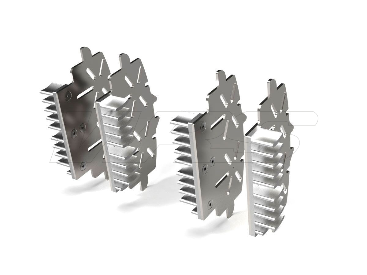 BRAKE PLATE RADIATOR PERFORMANCE TECHNOLOGY DUCATI HYPERMOTARD 821 / 939 / 950
