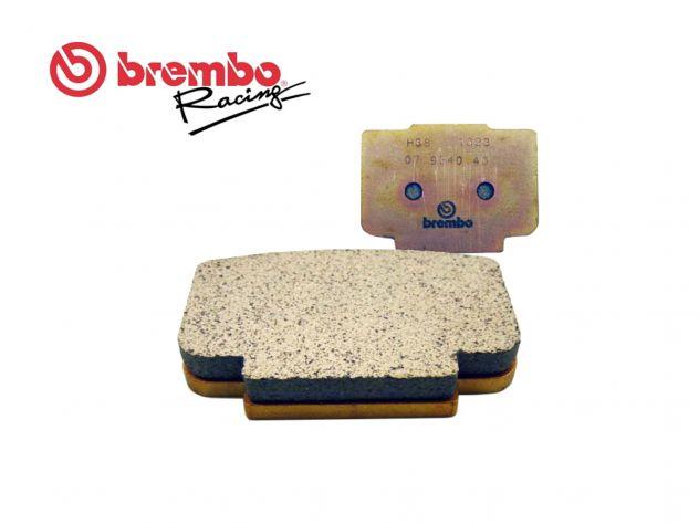07934040 BREMBO REAR BRAKE PAD FOR...