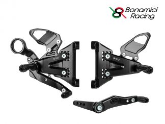 ADJUSTABLE REAR SETS KIT...