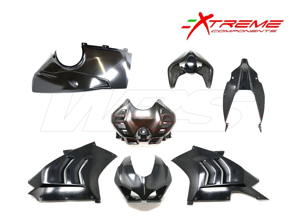 COMPLETE LAVEX FAIRING+AIRBOX COVER EXTREME COMPONENTS DUCATI PANIGALE V4R 2019