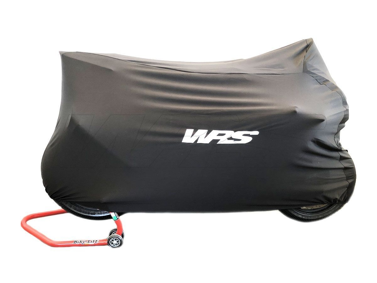 UNIVERSAL WRS BLACK MOTORCYCLE COVER