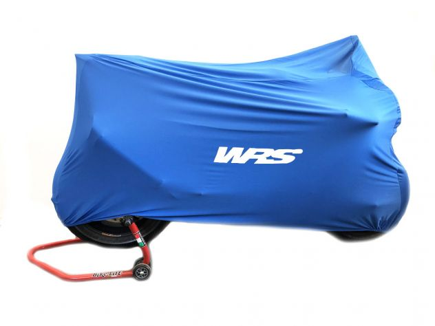 UNIVERSAL WRS BLU MOTORCYCLE COVER