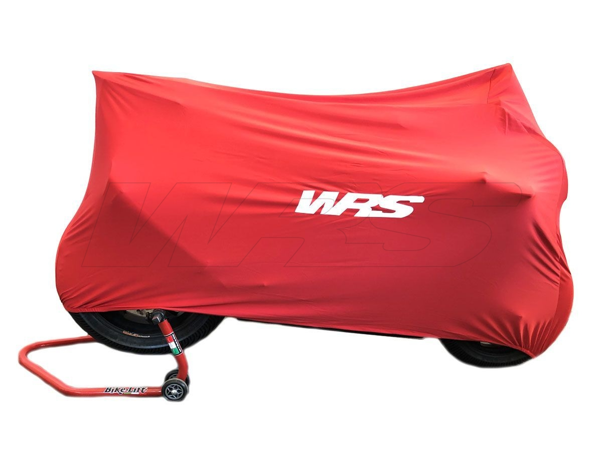 UNIVERSAL WRS RED MOTORCYCLE COVER