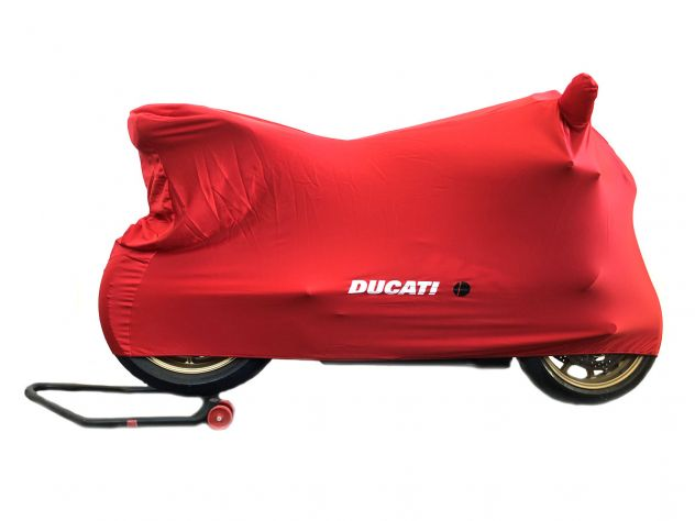 ORIGINAL DUCATI RED MOTORCYCLE COVER