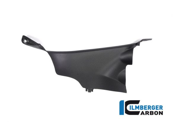 AIR TUBE COVER LEFT MATT CARBON ILMBERGER DUCATI PANIGALE V4 2018-2019