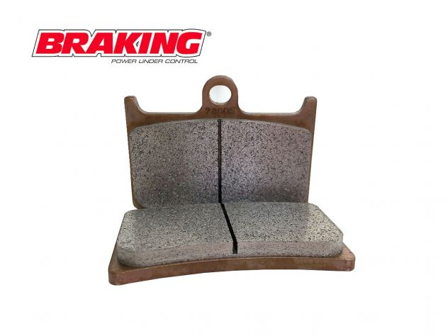 888SM1 BRAKING FRONT BRAKE PAD SET...