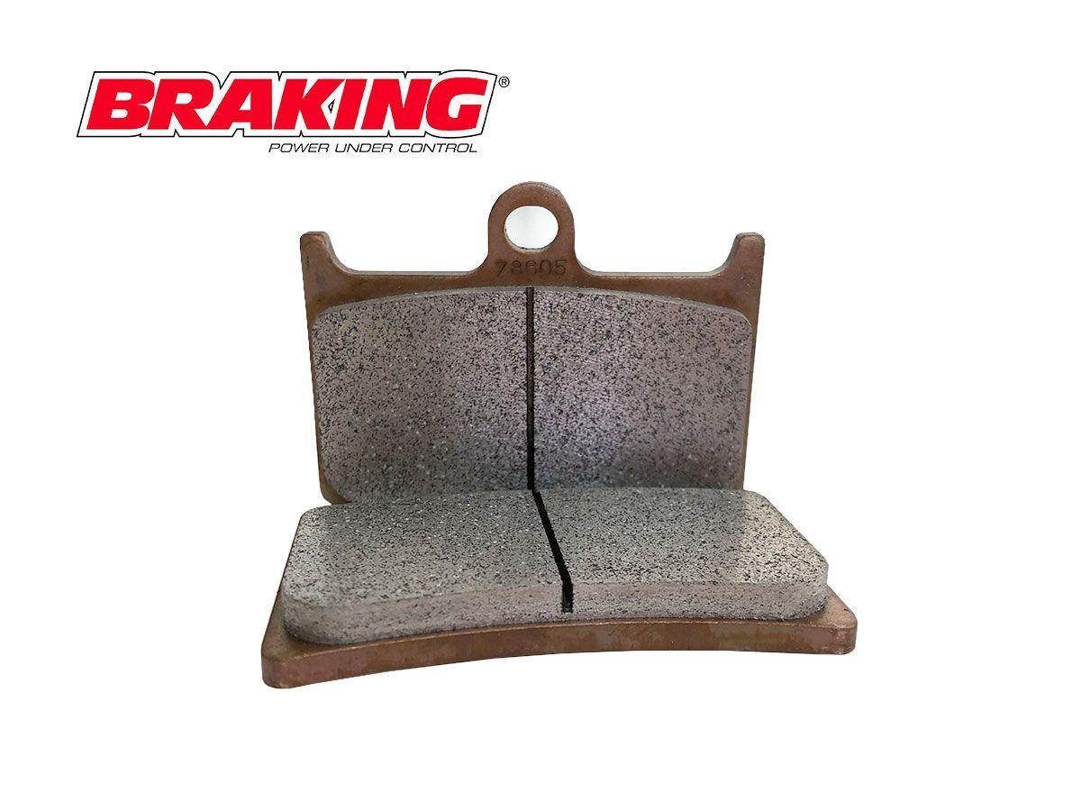 SM1 BRAKING FRONT BRAKE PAD SET DERBI BOULEVARD 125 2008-2012