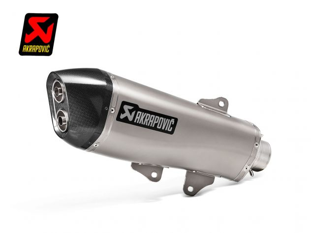 AKRAPOVIC SILENCER SLIP ON TITANIUM...
