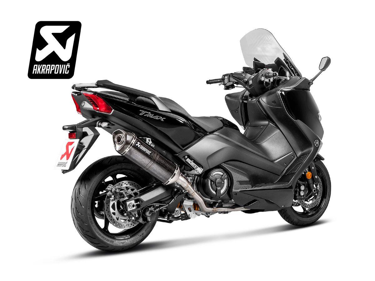 S Y5r5 Rc Komplett Schalldämpfer Kohlenstoff Yamaha T Max 530 2017 2019