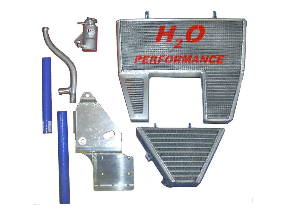 H2O PERFORMANCE OVERSIZED WATER RADIATOR + OIL RADIATOR DUCATI 1098 / 1198 / 848
