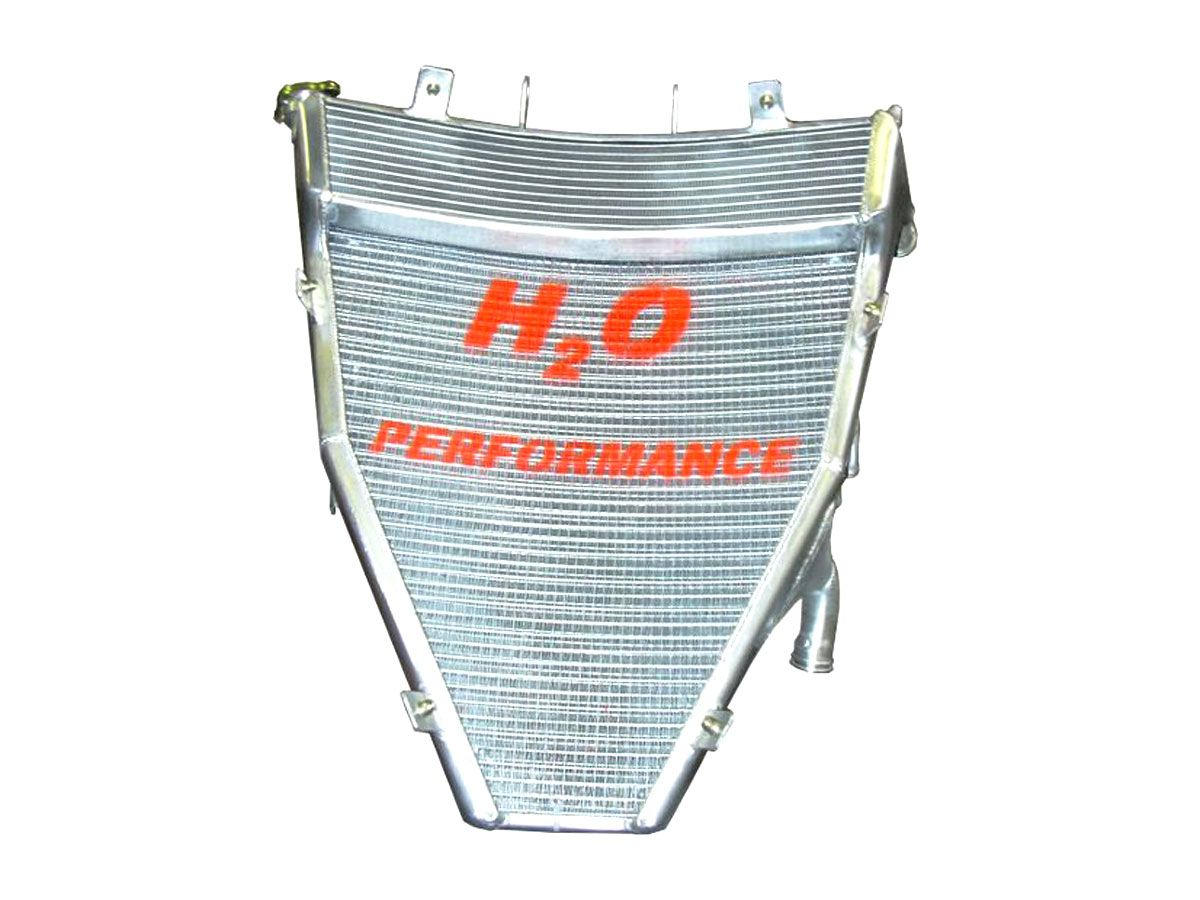 H2O PERFORMANCE OVERSIZED WATER RADIATOR HONDA CBR 600 RR 2003-2006