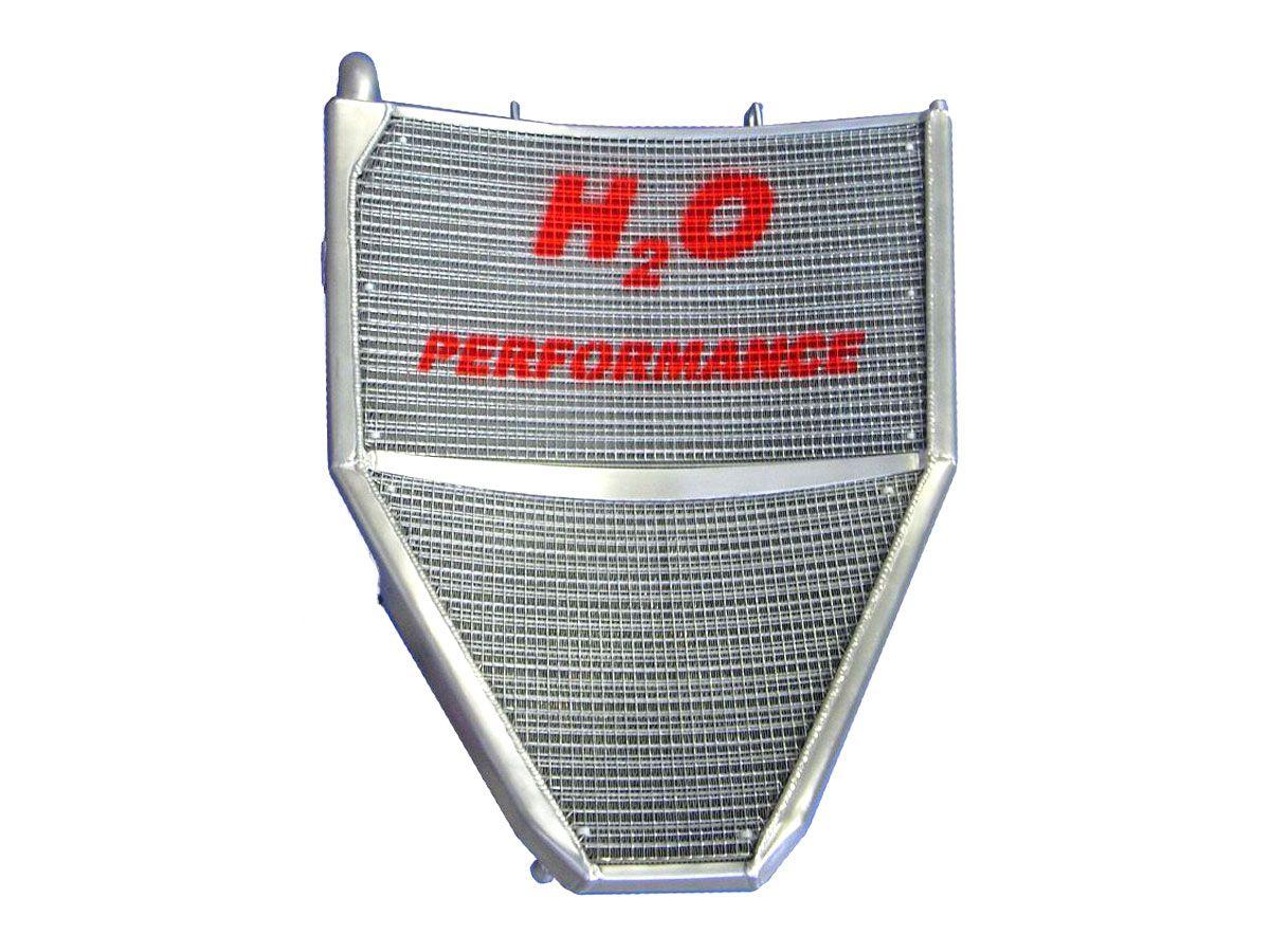 H2O PERFORMANCE OVERSIZED WATER RADIATOR HONDA CBR 600 RR 2007-2020