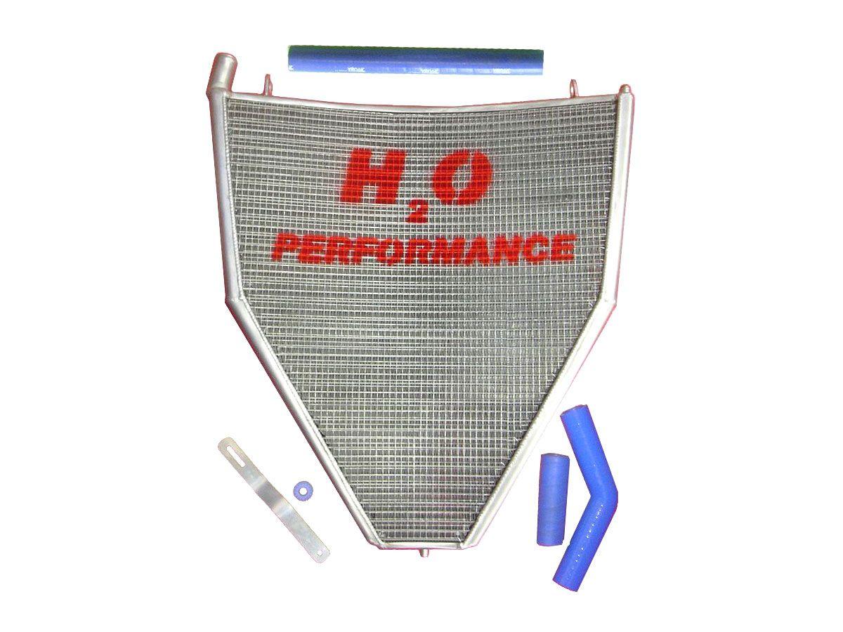H2O PERFORMANCE OVERSIZED WATER RADIATOR HONDA CBR 1000 RR 2006-2007