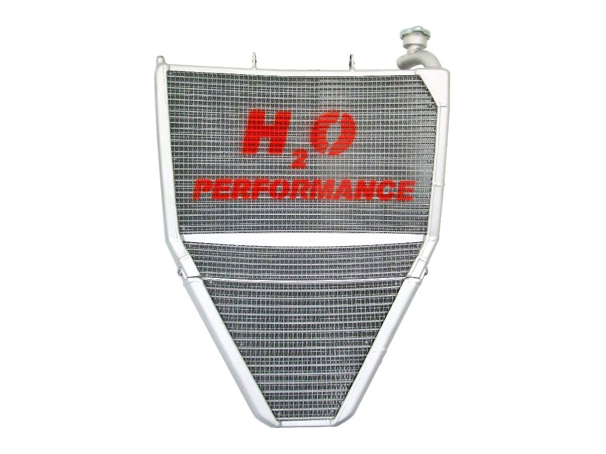H2O PERFORMANCE ADDITIONAL OIL RADIATOR TRIUMPH DAYTONA 675