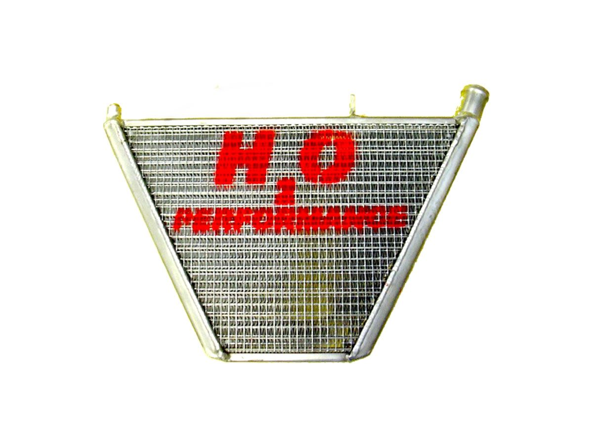 H2O PERFORMANCE ADDITIONAL WATER RADIATOR KAWASAKI ZX-6 R 2005-2006