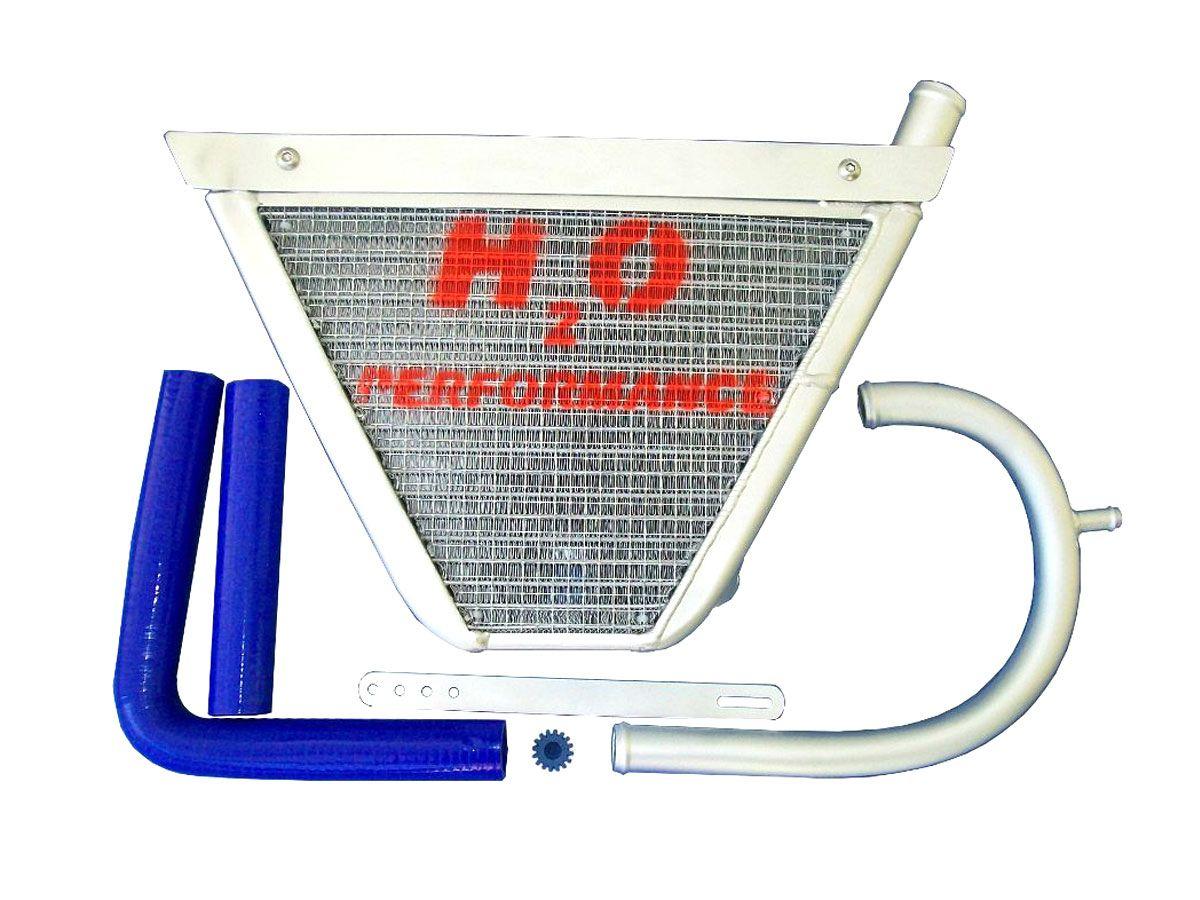 H2O PERFORMANCE ADDITIONAL WATER RADIATOR KAWASAKI ZX-6 R 2009-2011