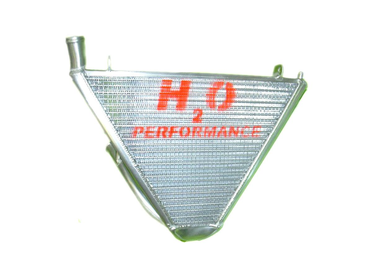 H2O PERFORMANCE ADDITIONAL WATER RADIATOR YAMAHA YZF R6 2008-2014
