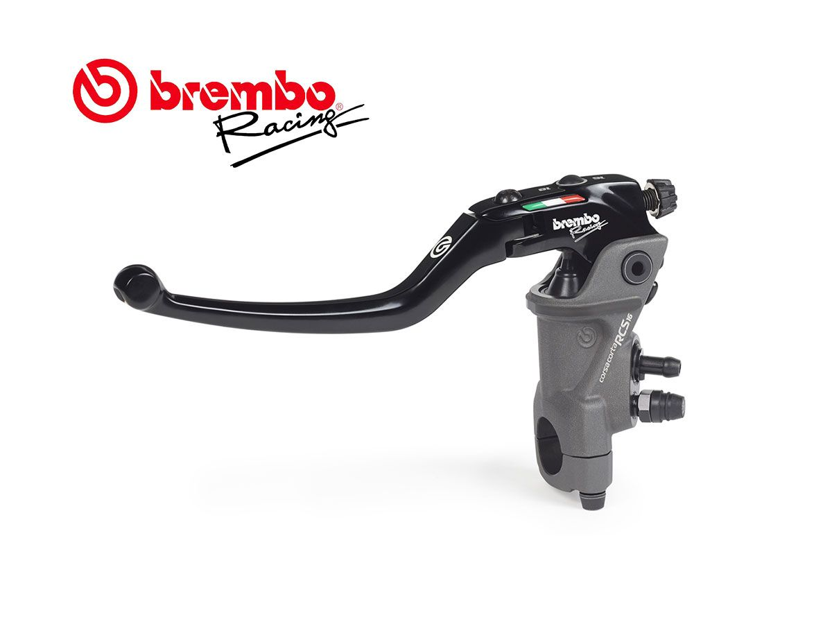 BOMBA DE EMBRAGUE AJUSTABLE BREMBO RACING 16 RCS CORSACORTA