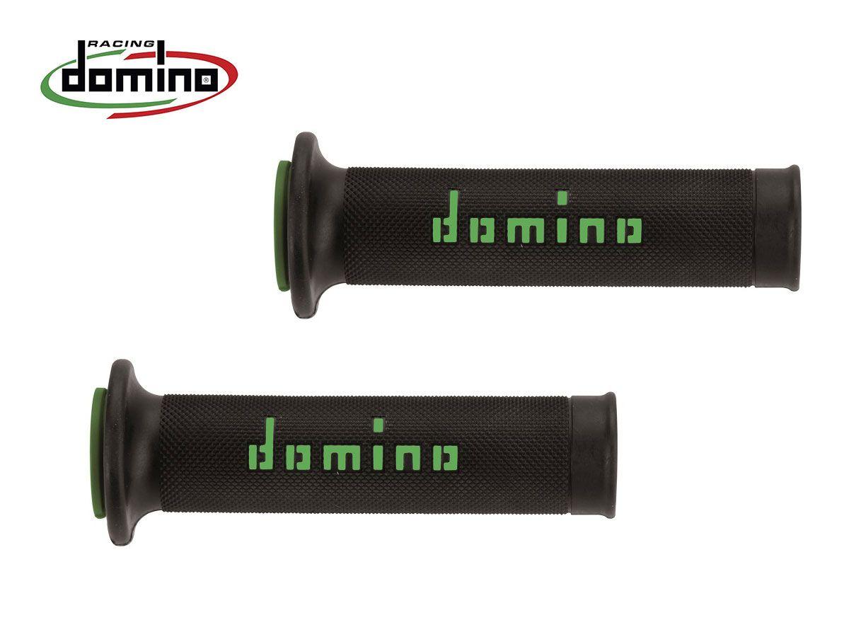 DOMINO GRIPS PAIR DIAMETER 20-24 BLACK-VERDE