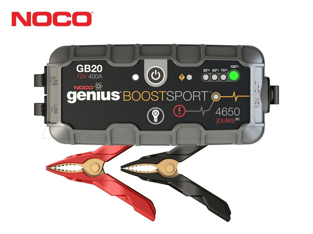 NOCO SPORT BATTERY JUMP STARTERS GB20 12V 400A