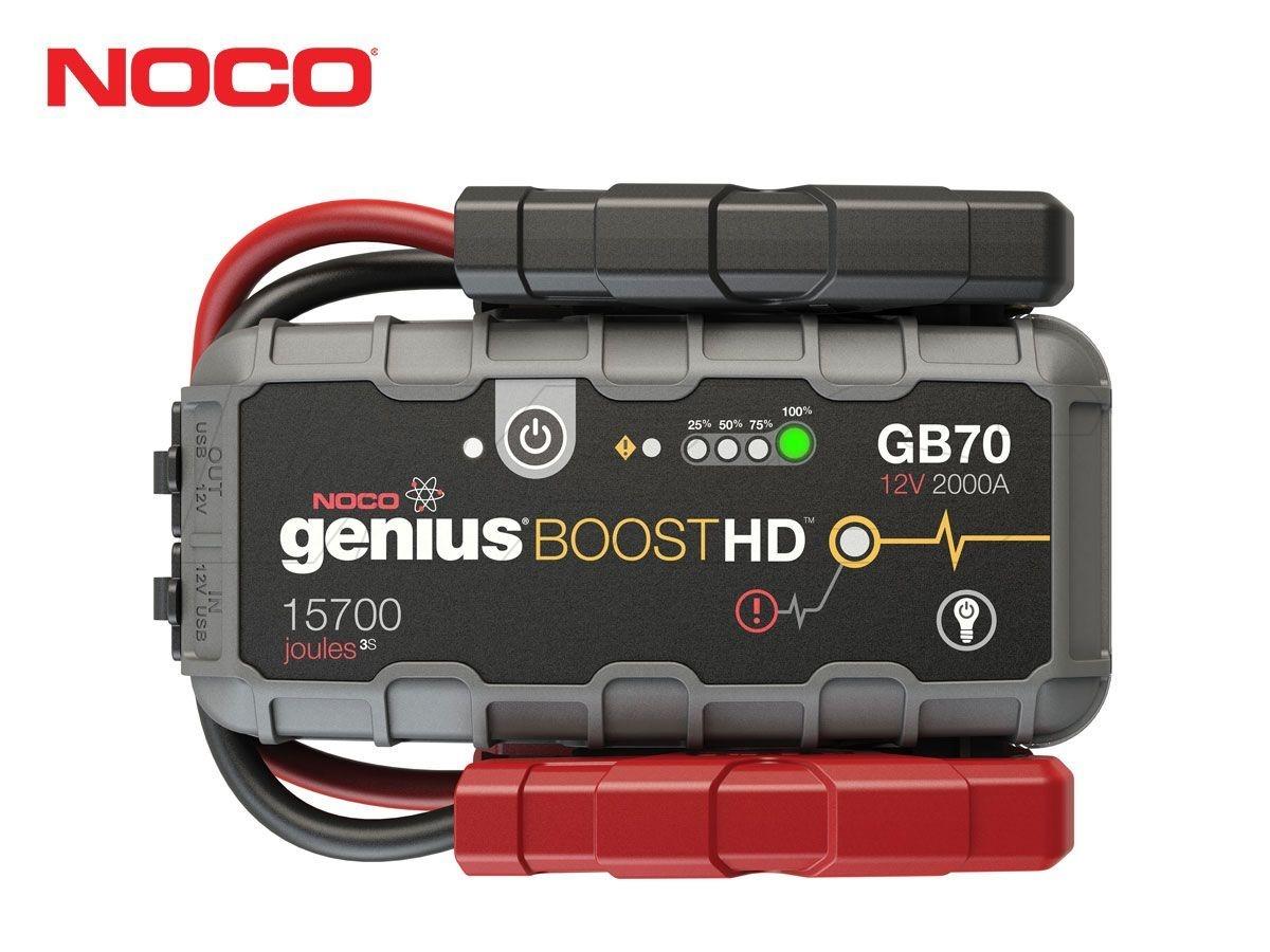 NOCO HD BATTERY JUMP STARTERS GB70 12V 2000A