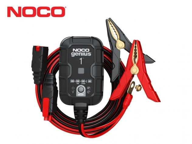 NOCO GENIUS 1 BATTERY CHARGER +...