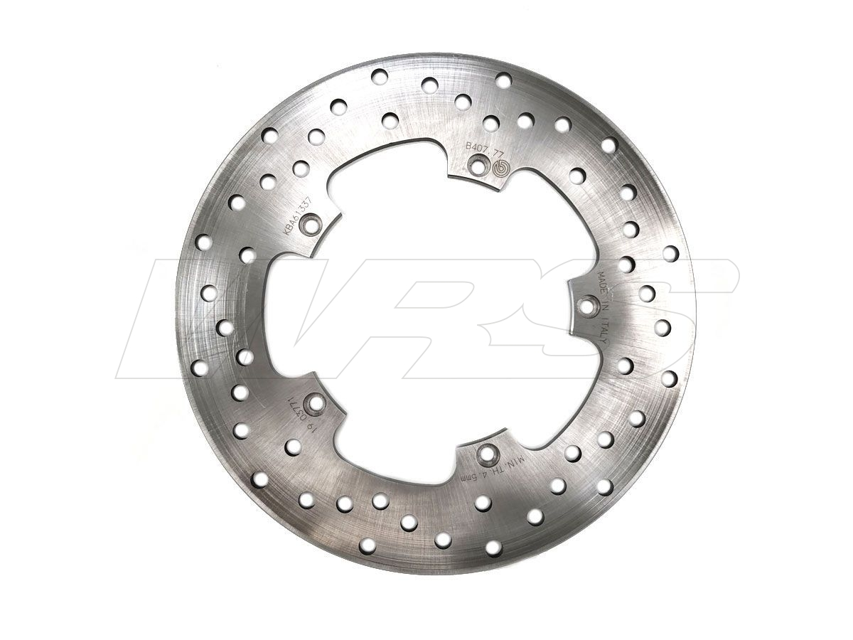 68B40777 FIXED REAR BREMBO SERIE ORO DISC USED