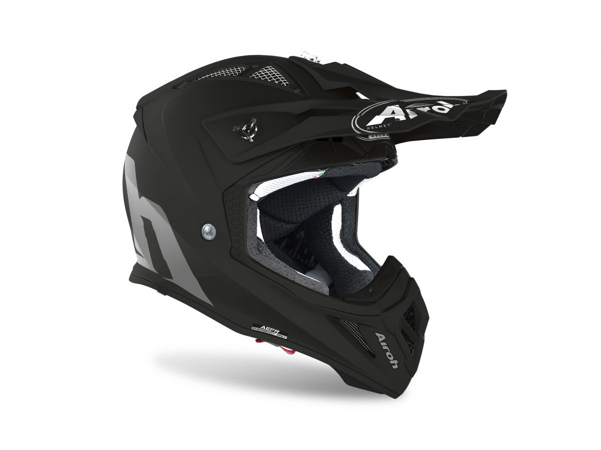 AIROH HELM AVIATOR ACE BLACK MATT
