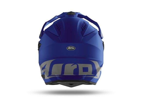 CASCO AIROH COMMANDER BLUE MATT