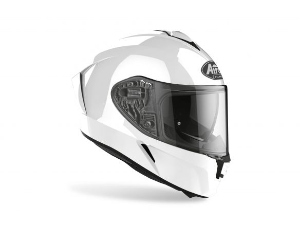 CASCO AIROH SPARK WHITE GLOSS