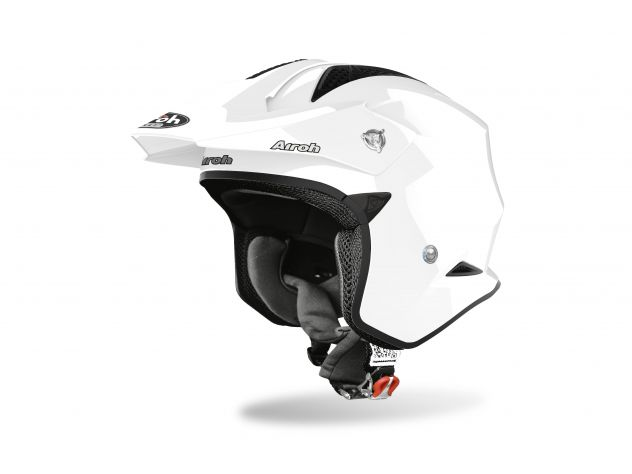 CASCO AIROH TRR S WHITE GLOSS