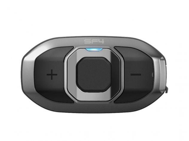 SINGLE SENA BLUETOOTH GPS INTERCOM SF1 PILOT / PASSENGER 4 CHANNEL