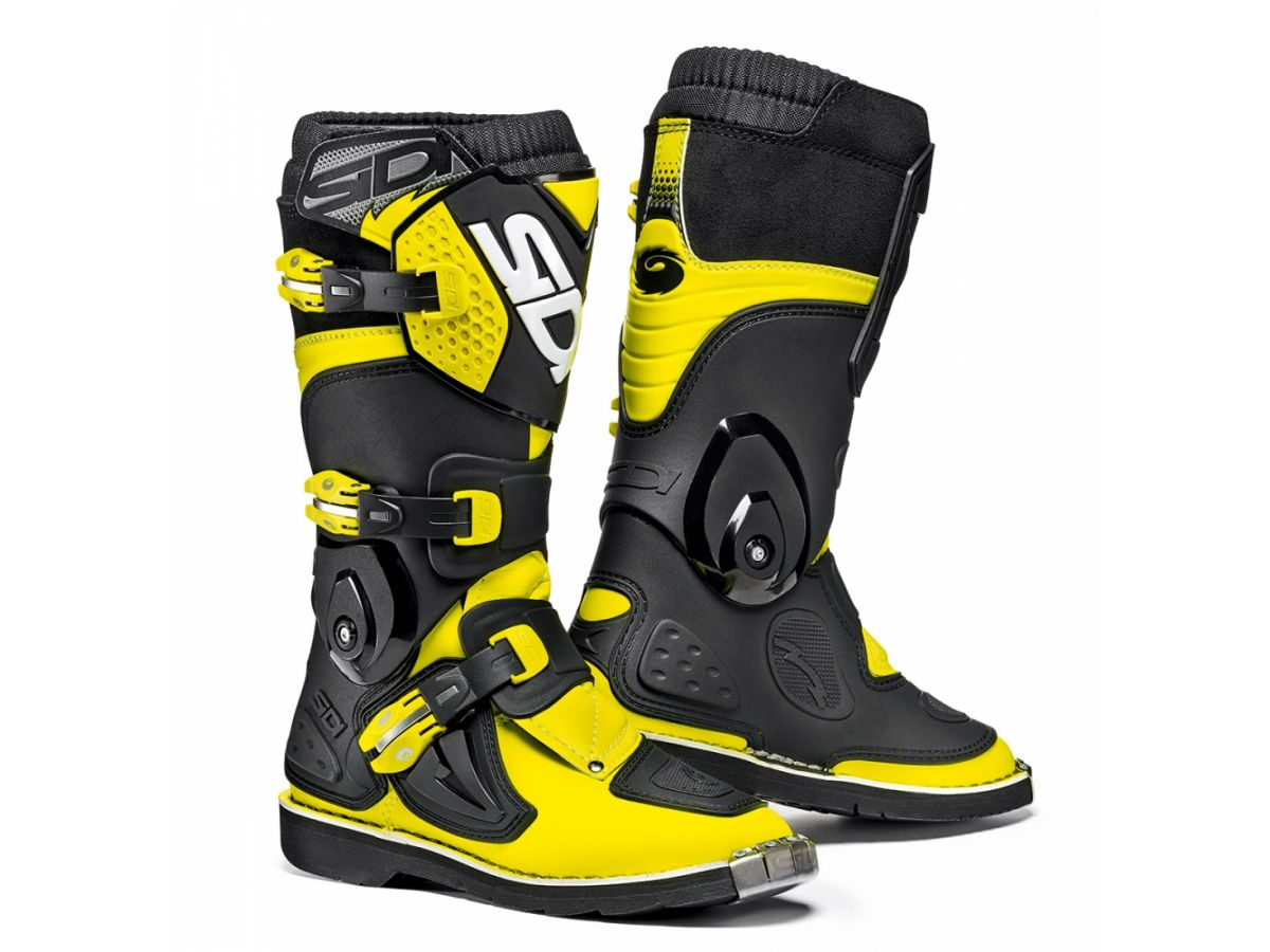SIDI CHILDREN MOTORCYCLE BOOTS FLAME OFF ROAD