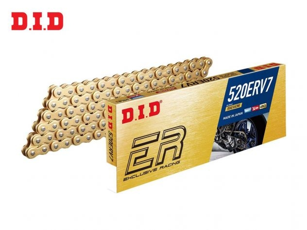 DID CHAIN MODEL ERV7 RACING 120 LINKS...