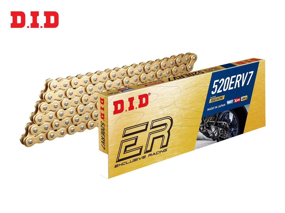 DID CHAIN MODEL ERV7 RACING 120 LINKS 520 STEP