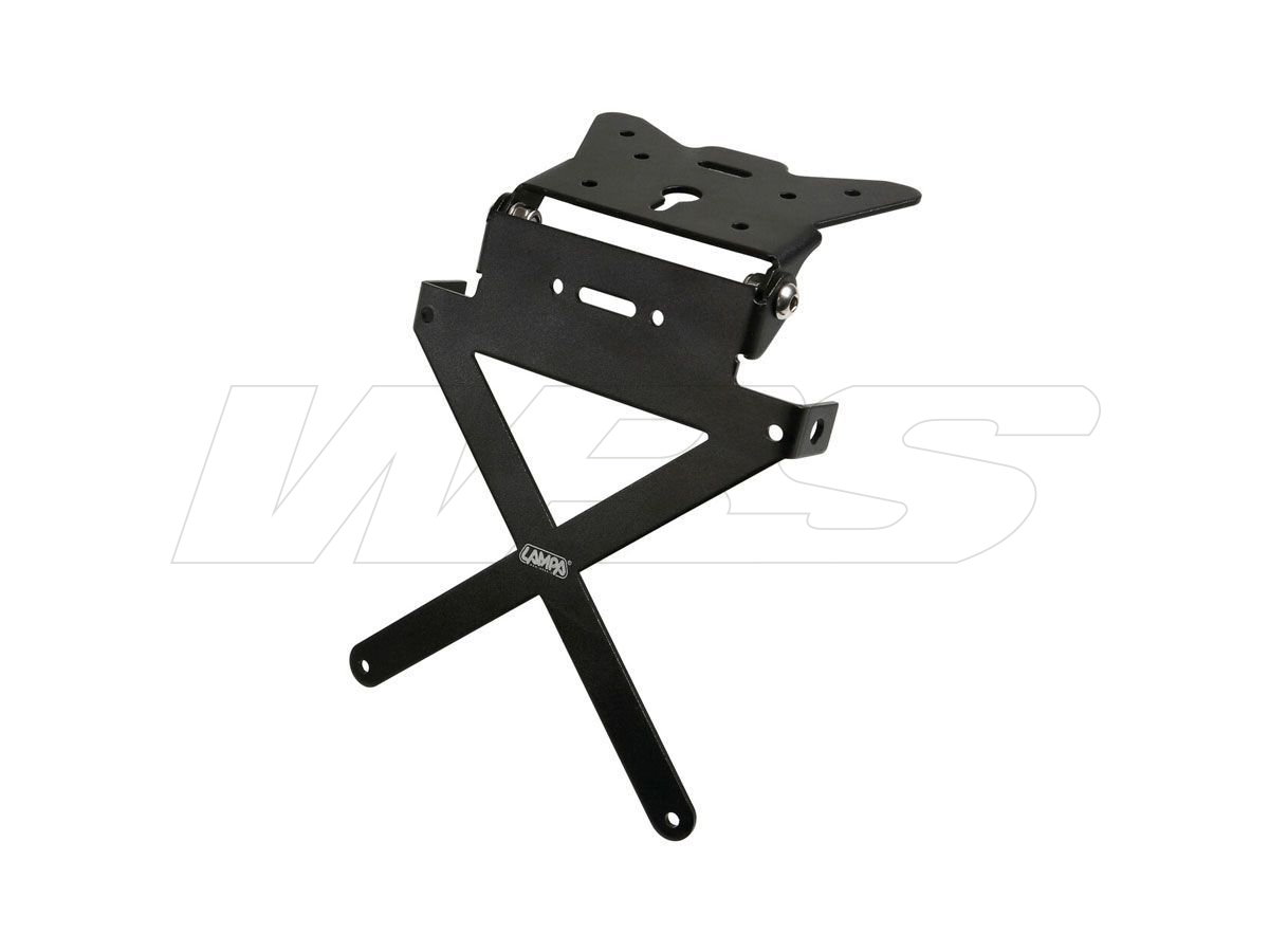 X-PLATE ALUMINUM ADJUSTABLE LICENSE PLATE SUPPORT LAMPA