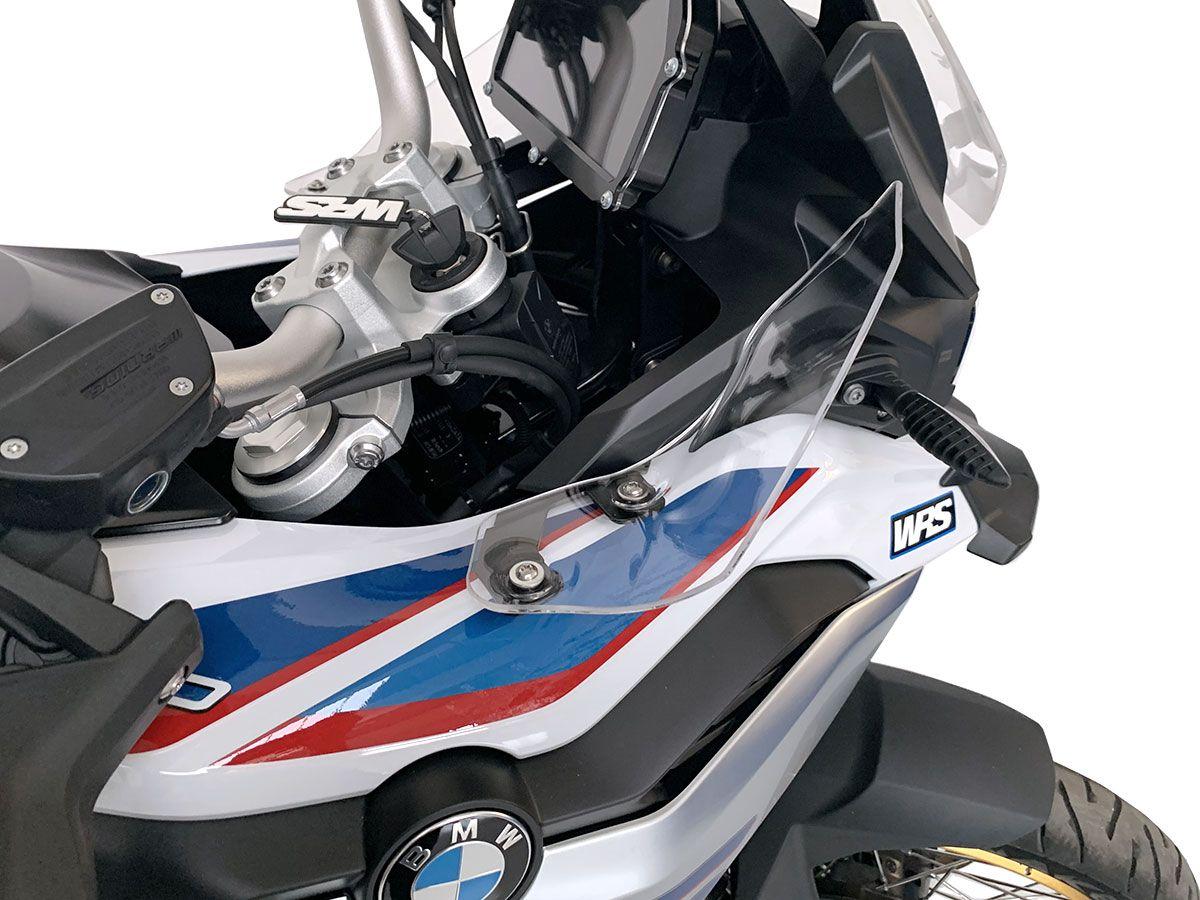 PROTEZIONI LATERALI SERBATOIO RESINA 3D F 850 GS 2018-2020 L-092 GRAY