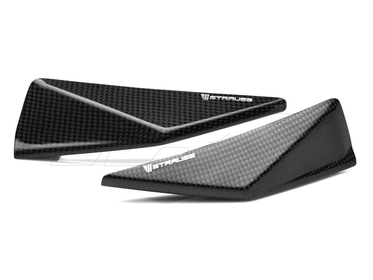 STRAUSS PROTECTIONS PAIR TAIL CARBON BMW S 1000 RR 2015-2018